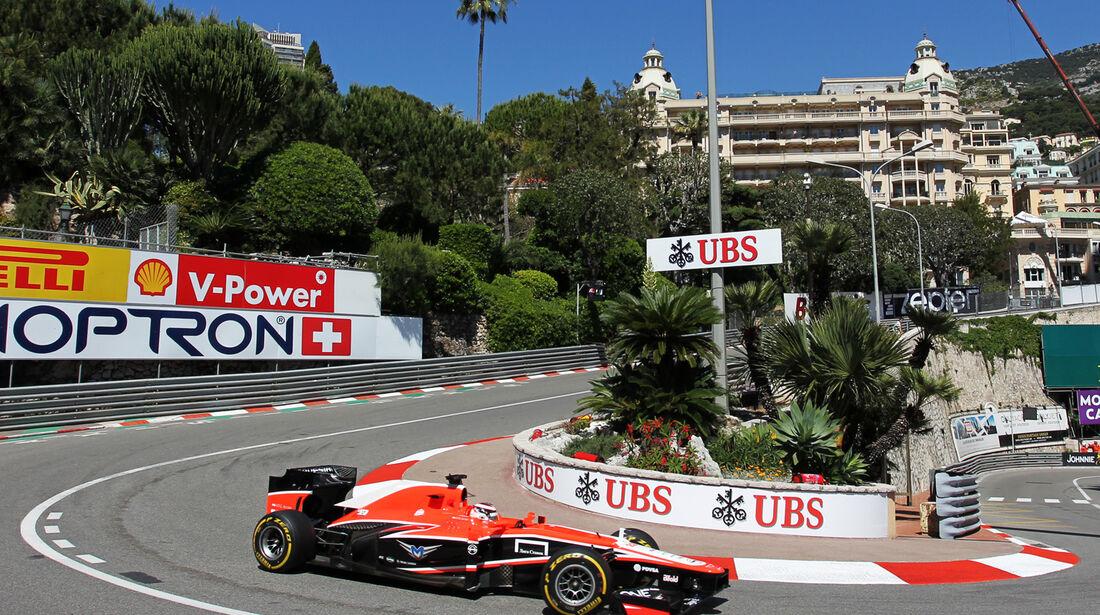 Jules Bianchi - Marussia - Formel 1 - GP Monaco - 23. Mai 2013