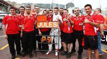 Jules Bianchi - Marussia  - Formel 1 - GP Monaco - 25. Mai 2014