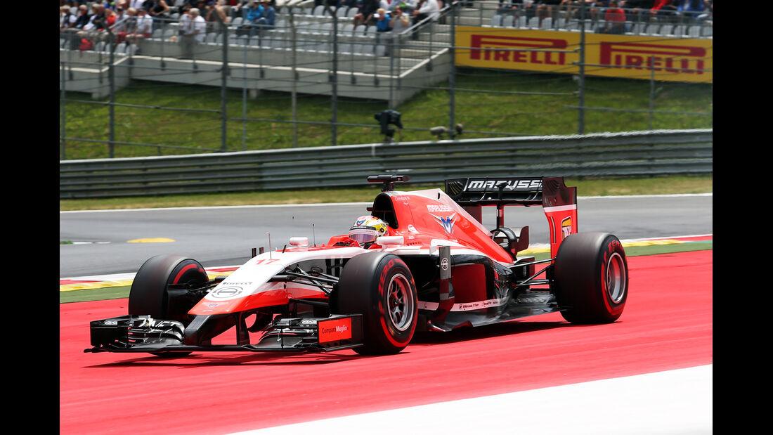 Jules Bianchi - Marussia - Formel 1 - GP Österreich - Spielberg - 21. Juni 2014
