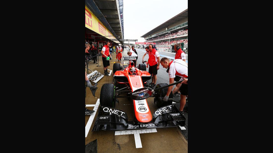Jules Bianchi - Marussia - Formel 1 - GP Spanien - 10. Mai 2013