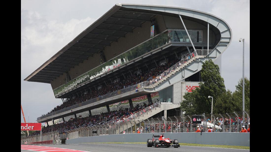Jules Bianchi - Marussia - Formel 1 - GP Spanien - 11. Mai 2013