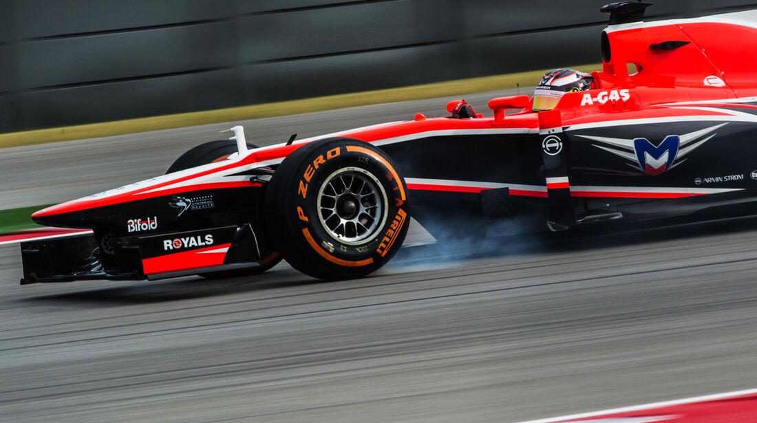 Jules Bianchi - Marussia - Formel 1 - GP USA - 16. November 2013