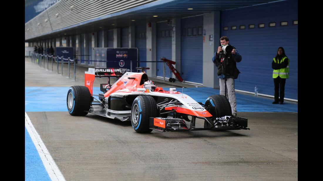 Jules Bianchi - Marussia - Formel 1 - Jerez - Test - 30. Januar 2014