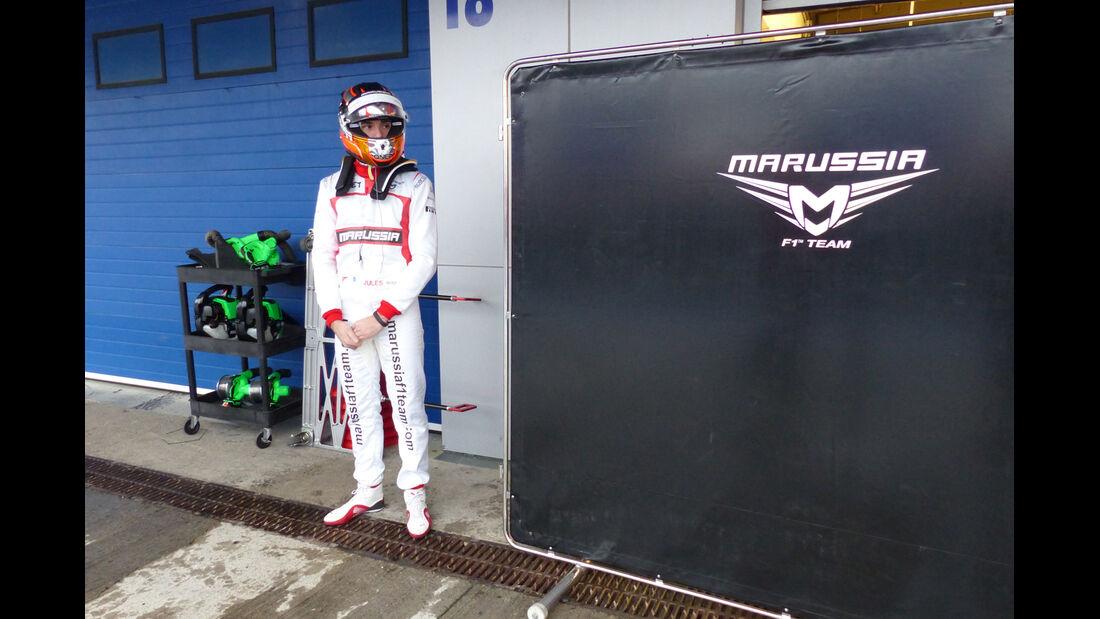 Jules Bianchi - Marussia - Formel 1 - Jerez - Test - 31. Januar 2014