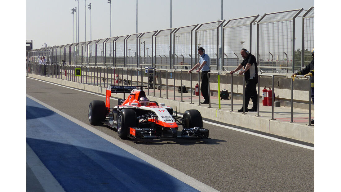 Jules Bianchi - Marussia - Formel 1 - Test - Bahrain - 19. Februar 2014