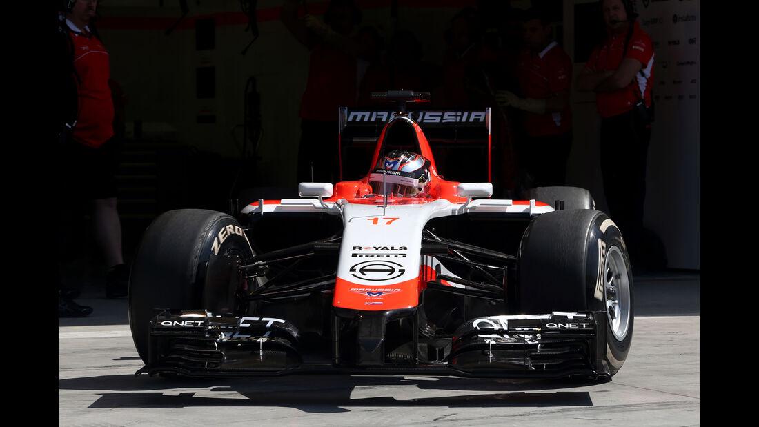 Jules Bianchi -. Marussia - Formel 1 - Test - Bahrain - 22. Februar 2014