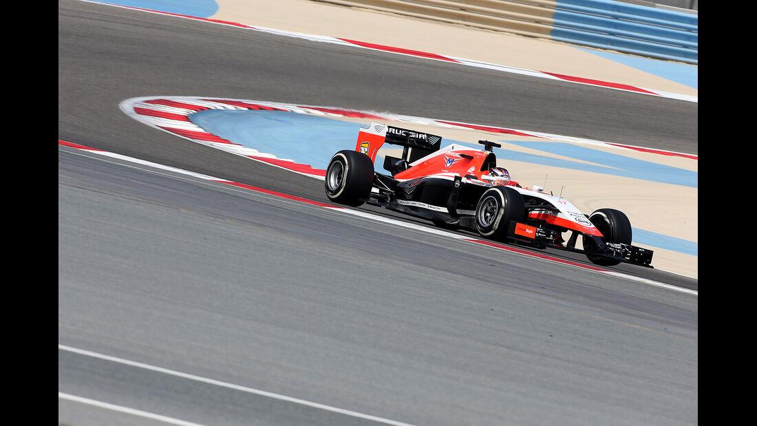 Jules Bianchi - Marussia -  Formel 1 - Test - Bahrain - 28. Februar 2014