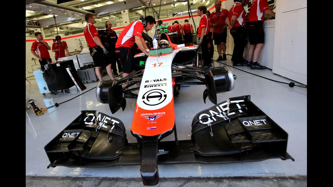 Jules Bianchi - Marussia - GP Bahrain - Test 2 - 9. April 2014