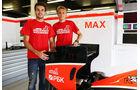 Jules Bianchi - Max Chilton - Formel 1 - GP England - 27. Juni 2013