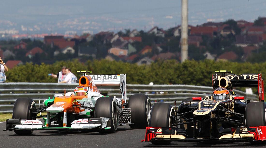 Jules Bianchi & Romain Grosjean - Formel 1 - GP Ungarn - Budapest - 27. Juli 2012
