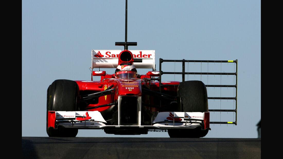 Jules Bianchi Young Driver Test Abu Dhabi 2011