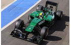 Julian Leal - Caterham - Formel 1 - Silverstone-Test - 9. Juli 2014