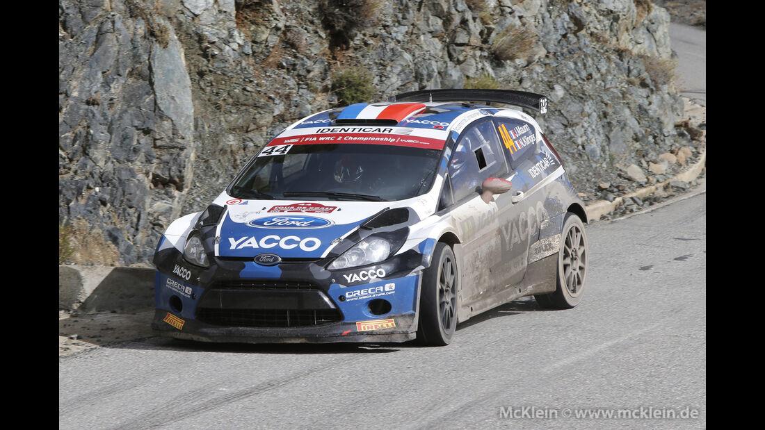 Julien Maurin - WRC - Rallye Frankreich - Tour de Corse - Korsika - 2015