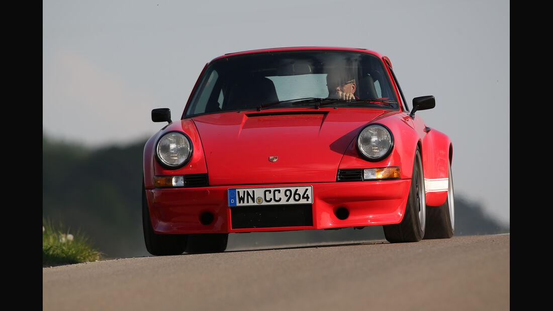 K & F-Porsche 911, Frontansicht