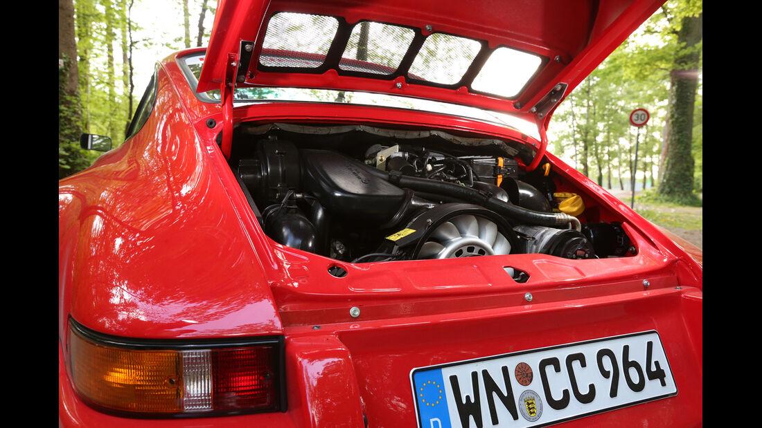 K & F-Porsche 911, Motor