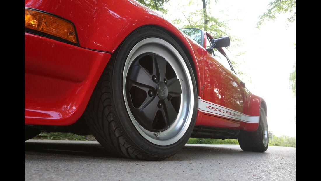 K & F-Porsche 911, Rad, Felge