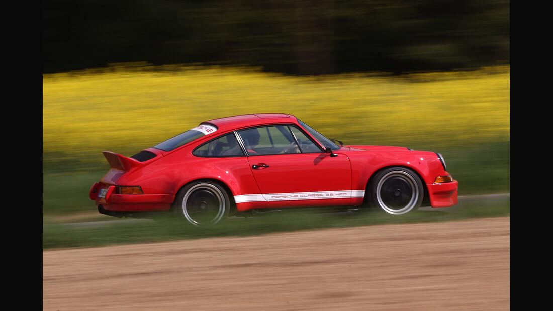 K & F-Porsche 911, Seitenansicht