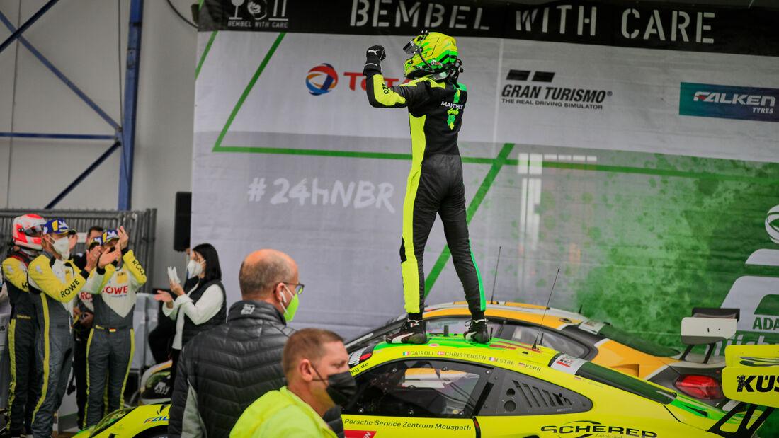 Kévin Estre -Porsche 911 GT3 R - Manthey-Racing - Startnummer #911 - 24h-Rennen Nürburgring - Nürburgring-Nordschleife - 6. Juni 2021