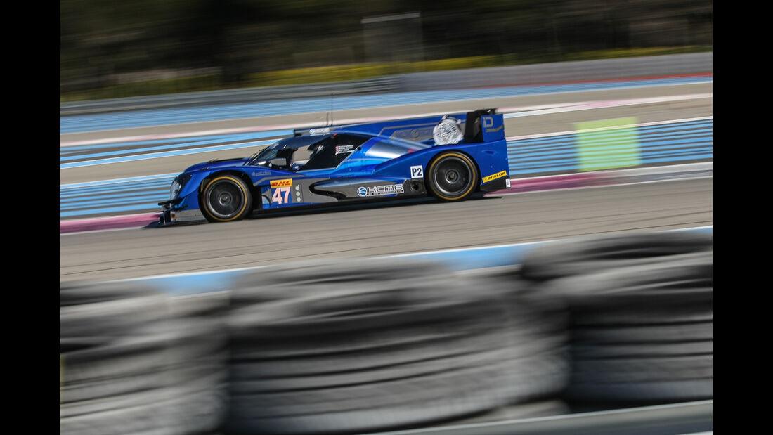 KCMG Oreca 05 - Paul Ricard - Le Mans-Prolog - 27. März 2015