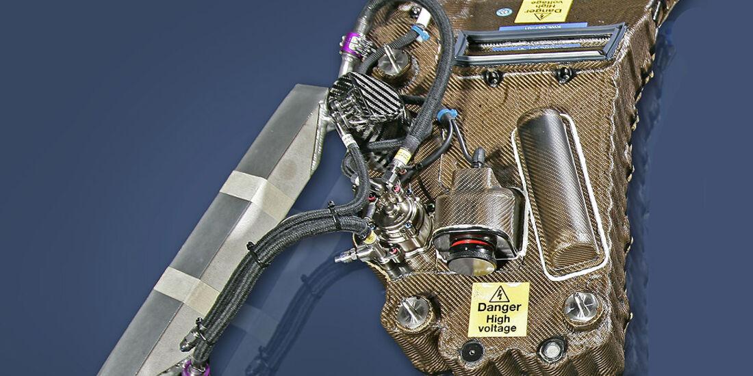 KERS-Batterie McLaren-Mercedes