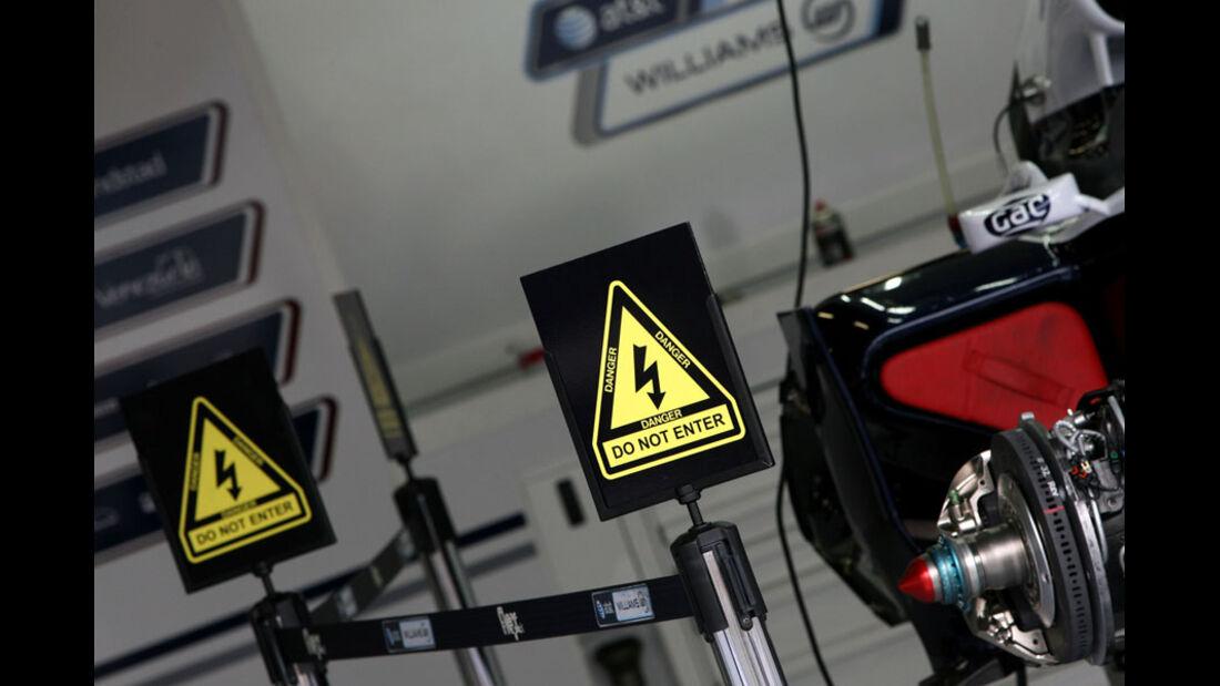KERS Williams - GP England - Silverstone - Do. 7. Juli 2011