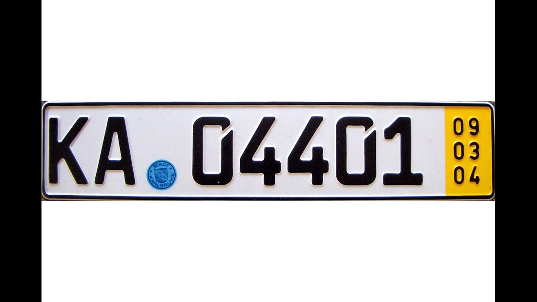 KFZ-Kennzeichen, Kurzzeit-Kennzeichen