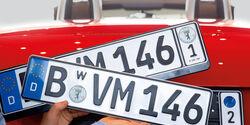 KFZ-Kennzeichen, Wechsel-Kennzeichen