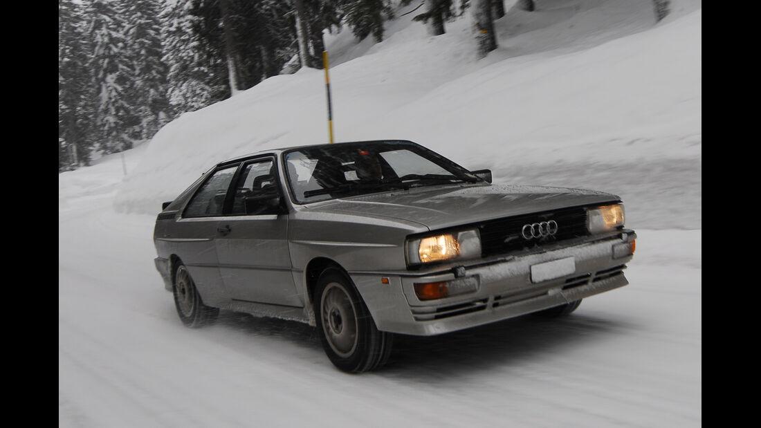 KISS-Ausfahrt, Audi Quattro