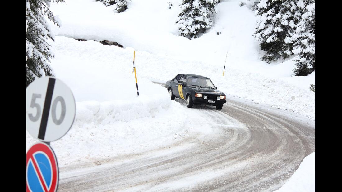 KISS-Ausfahrt, Opel, Schnee