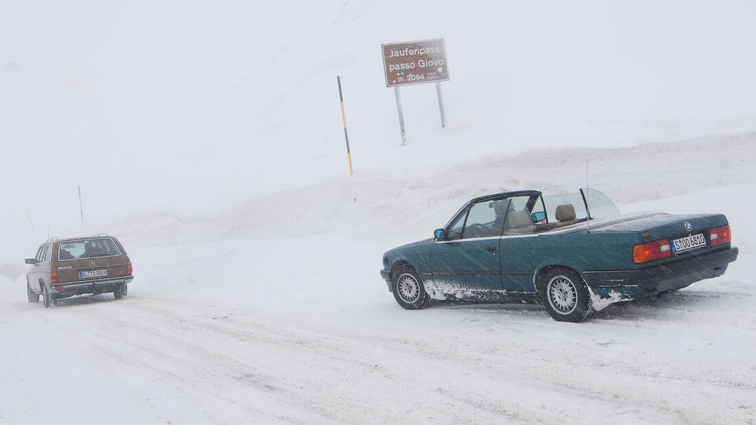 KISS-Ausfahrt, Schneelandschaft, Impression