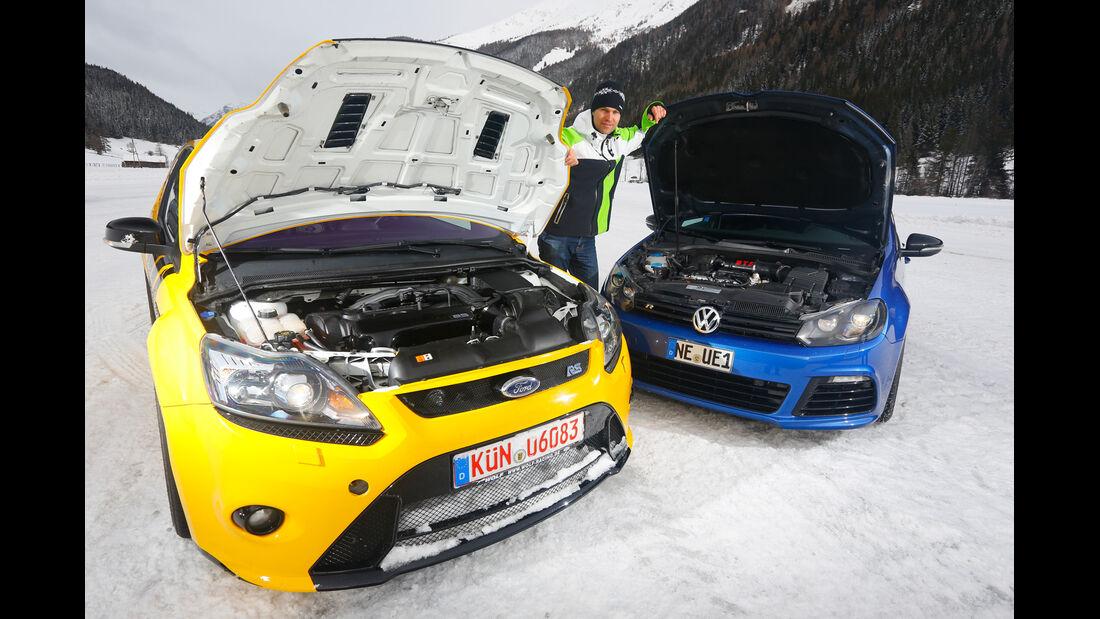 KL Racing-VW Golf R, Wolf-Ford Focus RS, Motoren
