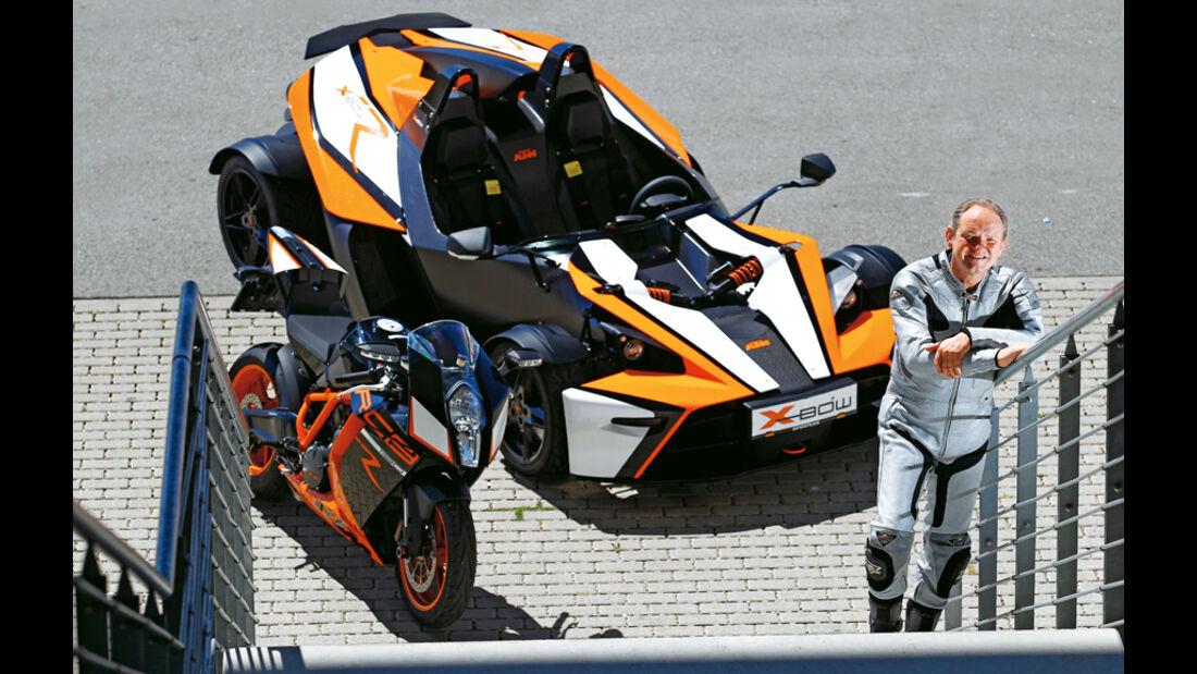 KTM 1190 RC8 R, Horst von Saurma