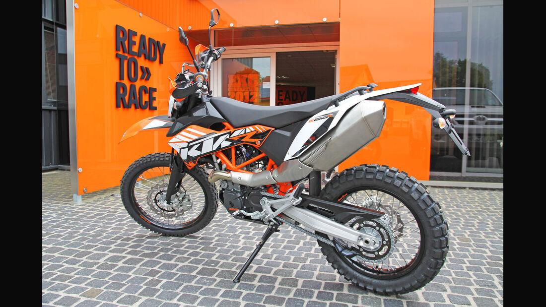 KTM 690 Enduro Motorrad