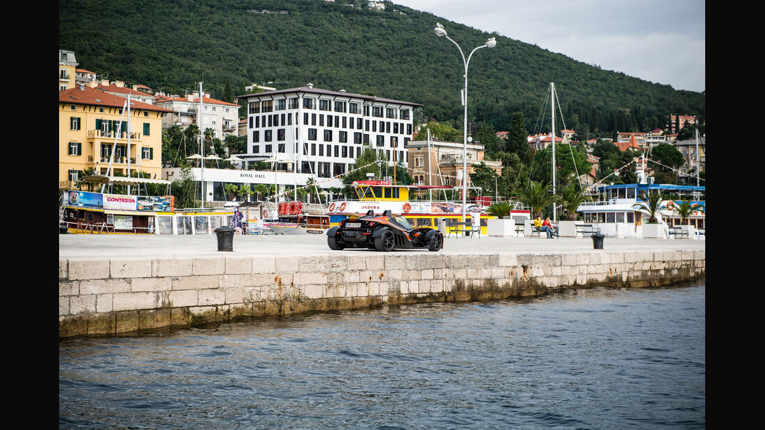 KTM X-Bow GT, Heckansicht