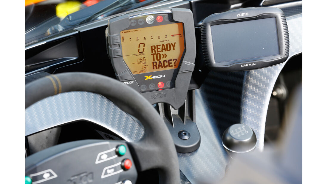 KTM X-Bow GT, Mittelkonsole