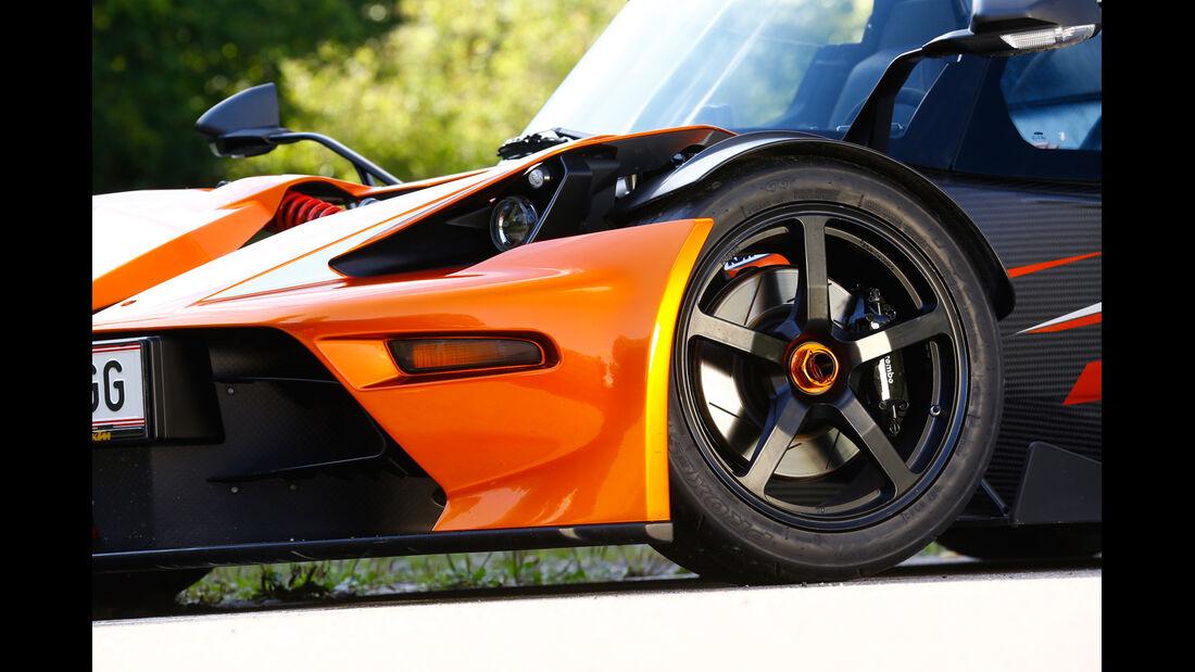 KTM X-Bow GT, Rad, Felge, Bremse