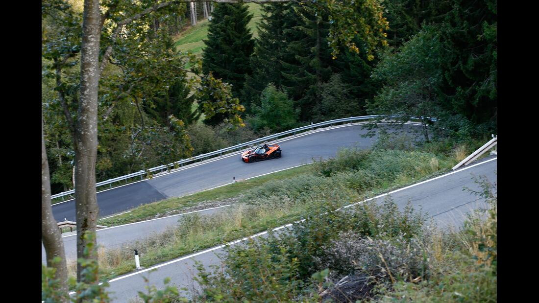 KTM X-Bow GT, Seitenansicht
