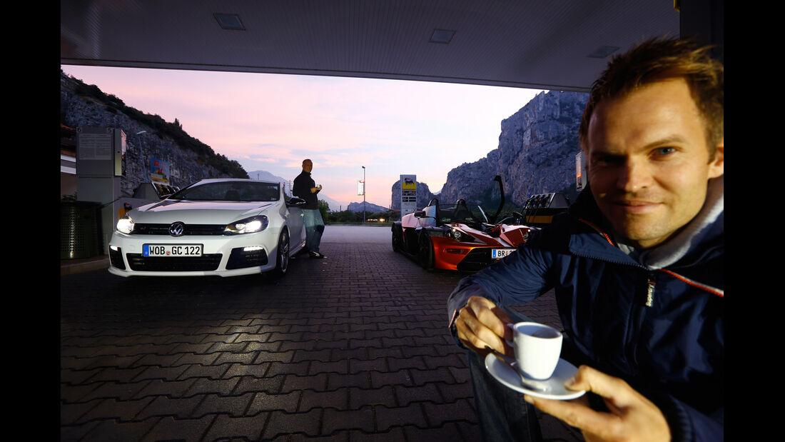 KTM X-Bow GT, VW Golf R Cabriolet, Christian Gebhardt