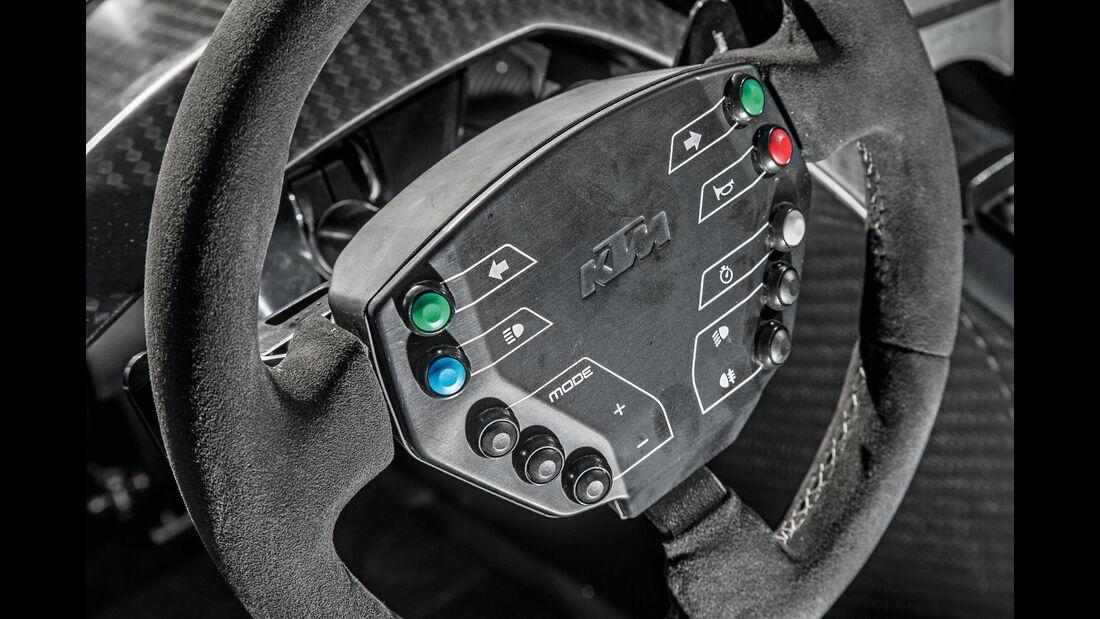 KTM X-Bow GT4, Lenkrad