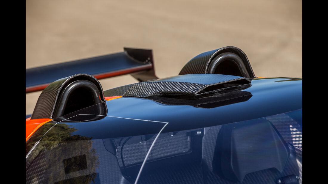 KTM X-Bow GT4, Lufthutze