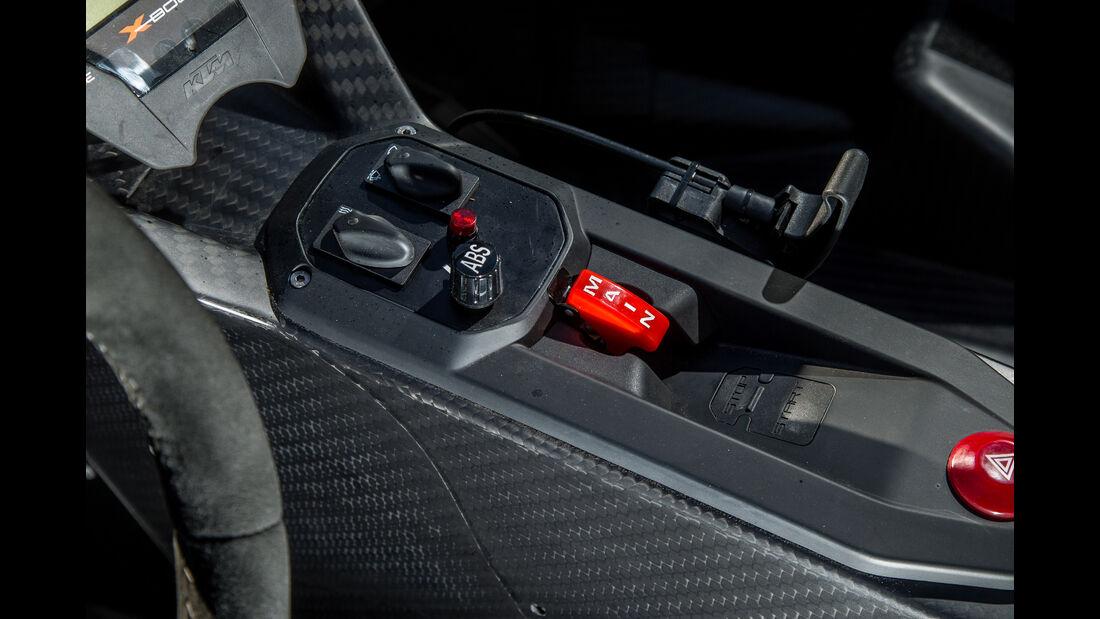 KTM X-Bow GT4, Mittelkonsole