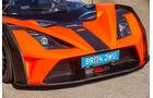 KTM X-Bow GT4, Motorhaube