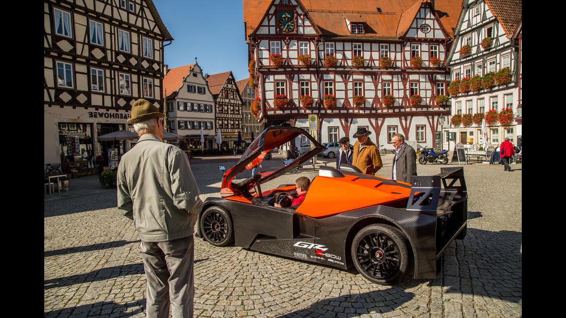 KTM X-Bow GT4, Seitenansicht