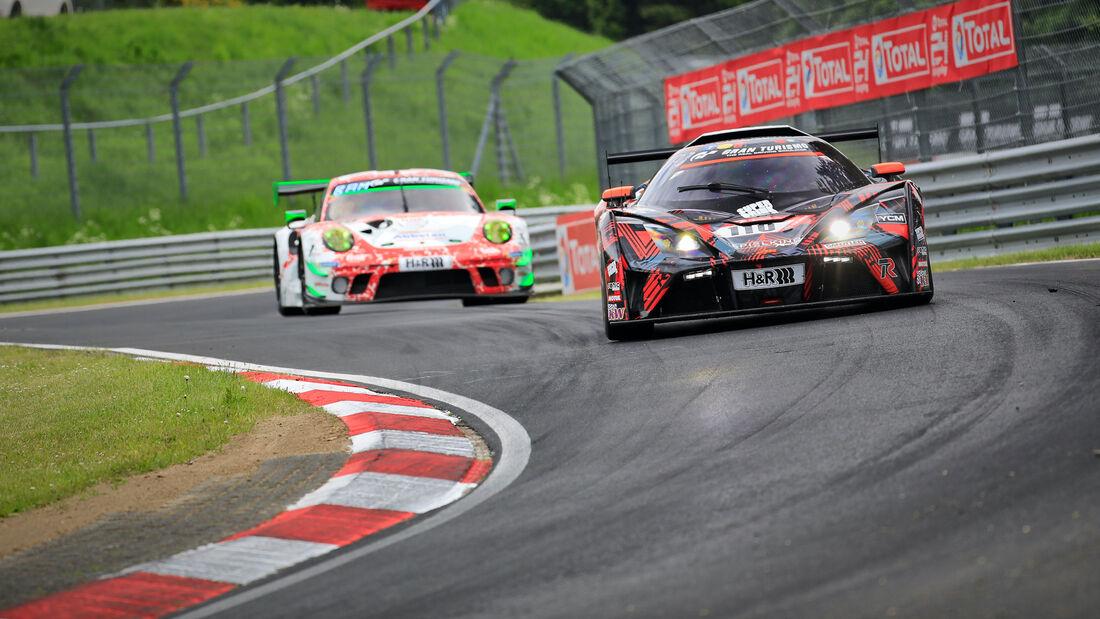 KTM X-Bow GT4 - Startnummer 110 - 24h Rennen Nürburgring - Nürburgring-Nordschleife - 3. Juni 2021