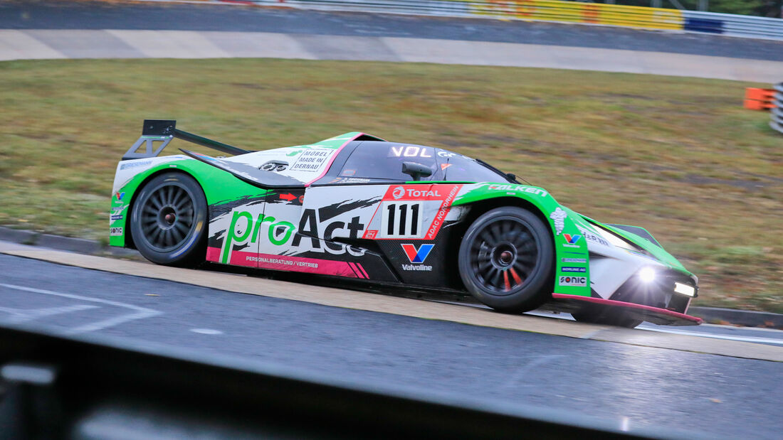 KTM X-Bow GT4 - Teichmann Racing GmbH - Startnummer #111 - Klasse: Cup-X KTM - 24h-Rennen - Nürburgring - Nordschleife - 24. bis 27. September 2020
