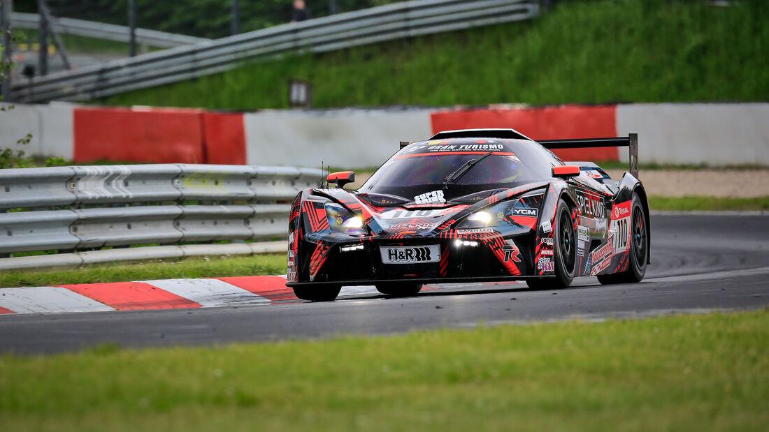 KTM X-Bow GT4 - Teichmann Racing - Startnummer #110 - Klasse: Cup X - 24h-Rennen - Nürburgring - Nordschleife - 03. - 06. Juni 2021