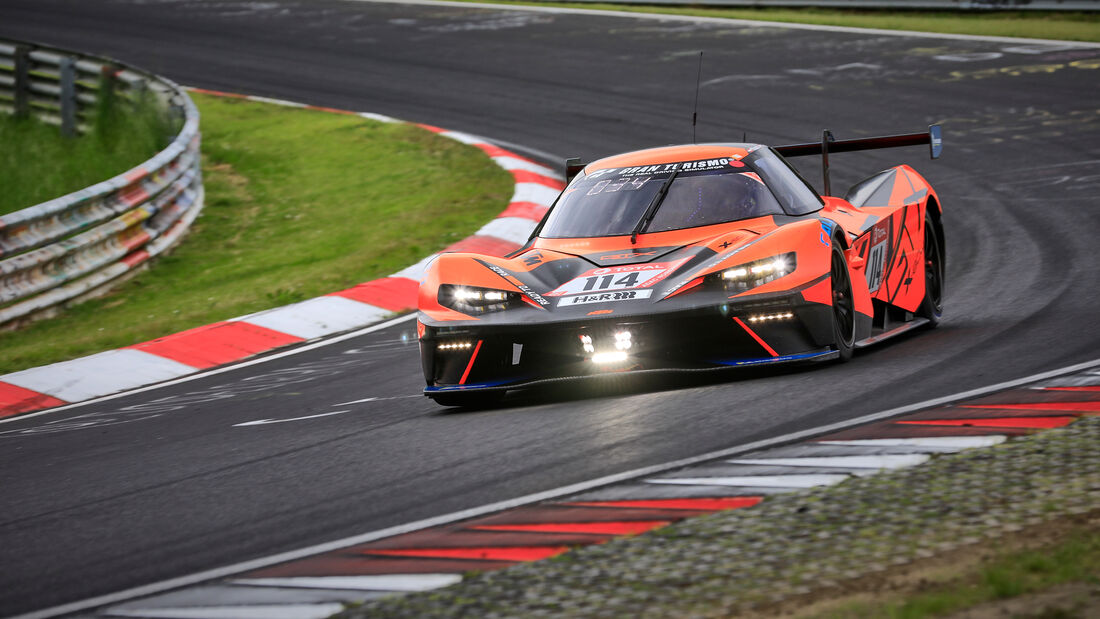 KTM X-Bow GTX - True Racing - Startnummer #114 - Klasse: Cup X - 24h-Rennen - Nürburgring - Nordschleife - 03. - 06. Juni 2021