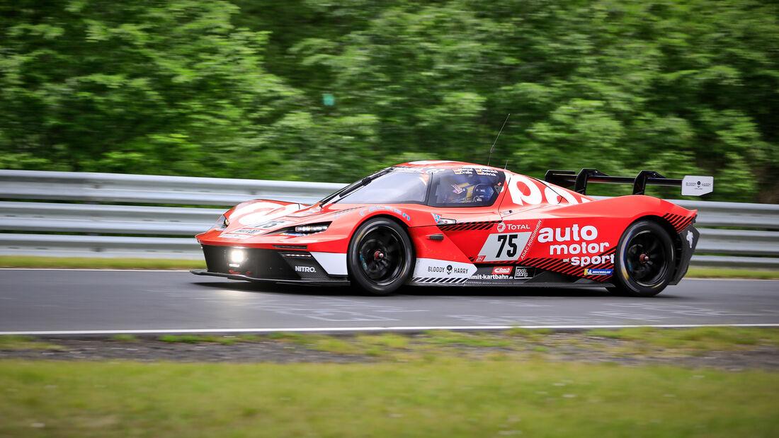 KTM X-Bow GTX - auto motor und sport TRUE RACING - Startnummer #75 - Klasse: Cup X - 24h-Rennen - Nürburgring - Nordschleife - 03. - 06. Juni 2021