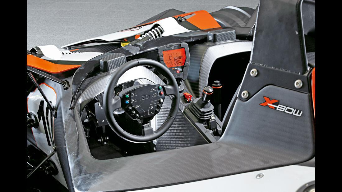 KTM X-Bow R, Cockpit