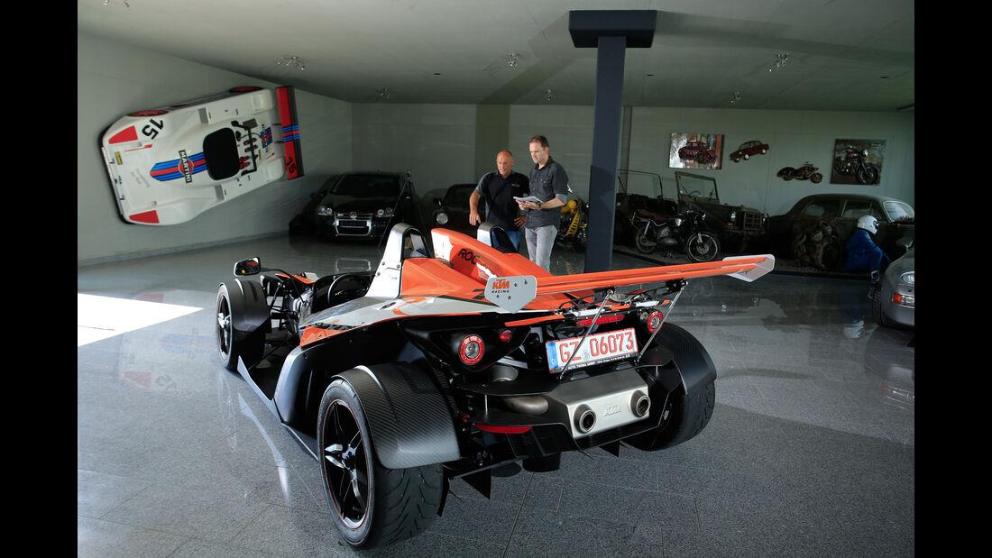 KTM X-Bow R, Heckansicht